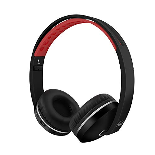 Bluetooth Active Noise Cancelling Headphones On Ear, Hi-Fi Stereo Headset, Foldable Wired/Wireless, Soft Memory-Protein Earmuffs, Built-in Mic 699d Wireless ANC Headphones for Travel Work TV Phones/PC