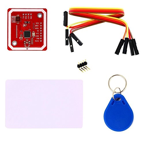 REES52 PN532 NFC NXP RFID Module V3 Kit Near Field Communication Reader Module Kit I2C SPI HSU with S50 White Card Key Card for Arduino Raspberry Pi DIY Smart Phone Android Phone