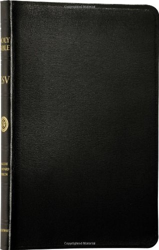 Download By Crossway Bibles - Holy Bible: English Standard Version (ESV) (Thinline Black Bonded Leather edition) (7.6.2010) pdf