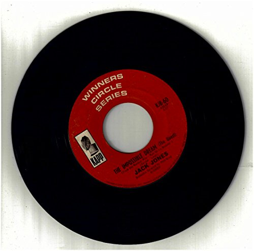JONES, Jack / Impossible Dream, The bw My Best Girl / 45rpm REISSUE record