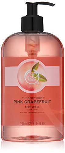 (The Body Shop Pink Grapefruit Shower Gel, Paraben-Free Body Wash, Mega-Size, 25.3 Fl. Oz.)