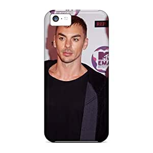 SherriFakhry Iphone 5c Scratch Resistant Hard Cell-phone Cases Customized Nice 30 Seconds To Mars Band 3STM Skin [IJY9561UdZr]