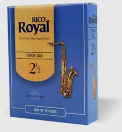 CAÑAS SAXOFON TENOR - Rico Royal (Caja Azul) (Dureza 3) (Caja de 10 Unidades)