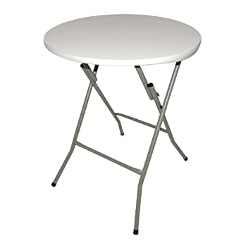 Table Ronde Pliable Bolero 735 X 600 Mm Pour Restaurant Bar Café