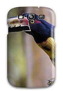 Hot 2572119K85327321 New Premium Case Cover For Galaxy S3/ Toucan Aracari Protective Case Cover