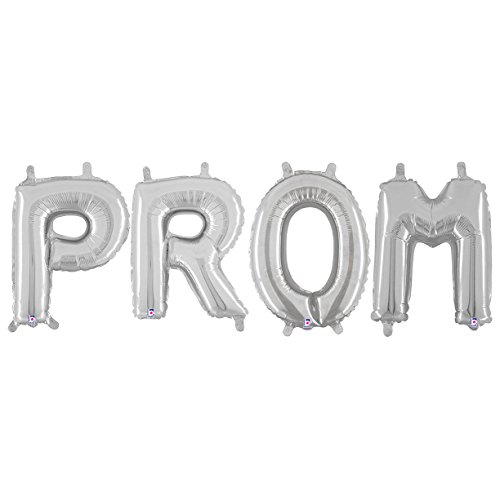 Silver Prom Balloon Phrase -