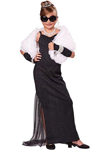 Red Carpet Starlet Hollywood Diva Child Costume