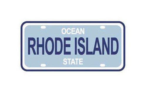 State Island Plate Rhode License (KAREN FOSTER Design State License Plate Scrapbooking Embellishment, Rhode Island)