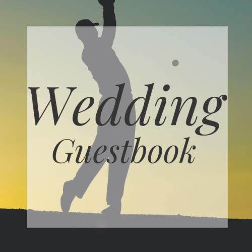 Wedding Guestbook: Golfing Golf Golfer Event Signing Guest Book - Visitor Message w/ Photo Space Gift Log Tracker Recorder Organizer Address ... for Special Memories/Party Reception Table ()