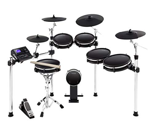 - Alesis DM10 MKII Pro Kit | Ten-Piece Electronic Drum Kit with Mesh Heads