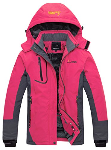 Wantdo Women's Waterproof Mountain Jacke - Ski Clothes Shopping Results