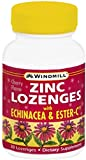 Windmill Zinc Lozenges With Echinacea and Ester-C 30 Each (Pack of 3)