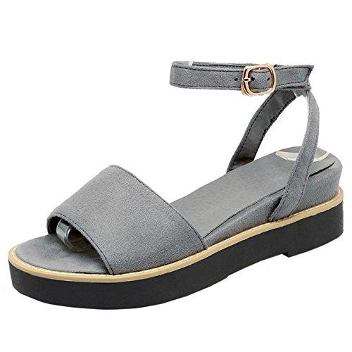 Casual Sandalias Zanpa 2 Flatform Mujer grey 4FxZqE5w7