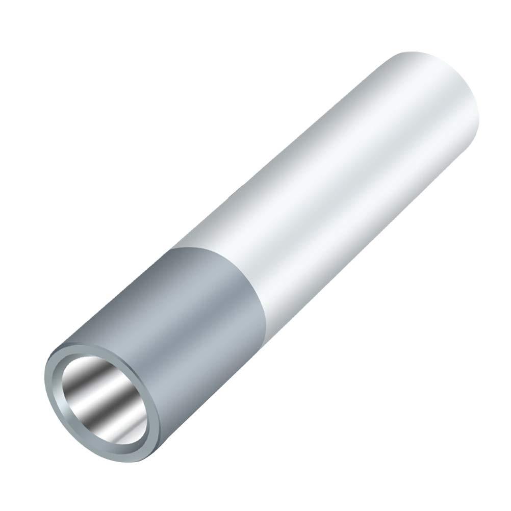 LEDMOMO USB 2600mah Rechargeable Emergency Lithium Battery Multi-Function Mini Small Flashlight Rechargeable Flashlight(Silver)