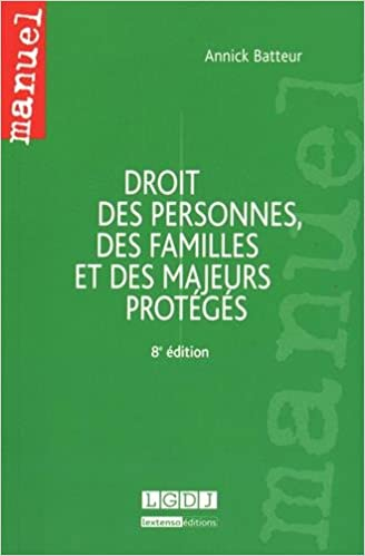En ligne téléchargement Droit des personnes, des familles et des majeurs protégés epub pdf