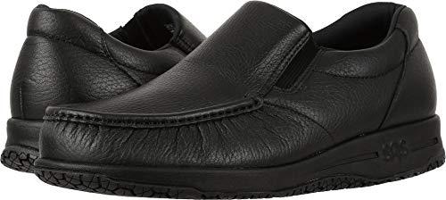 SAS Men's, Navigator Slip on Walking Shoes Black 10.5 W (Men Navigator)