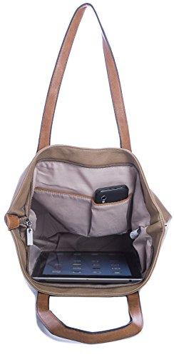 Shop Taupe Handbag Big Donna Sacchetto xZFXqPzw