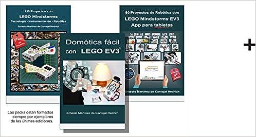 Pack 3 libros LEGO - Robótica y Domótica con 15% dto.: Amazon.es: Ernesto Martínez de Carvajal Hedrich: Libros