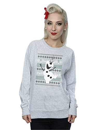 Disney Women's Frozen Christmas Olaf Dance Sweatshirt