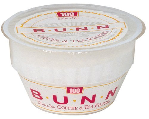 Bunn BCF100-T 100-Count Basket Filter by Bunn