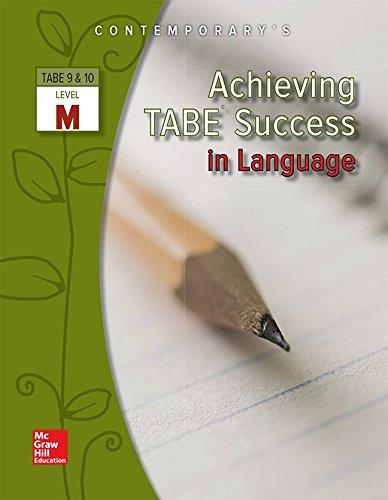 Achieving TABE Success In Language, Level M Workbook (Achieving TABE Success for TABE 9 & 10)