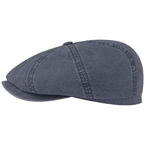Stetson Hatteras Cotton Cap Men Blue 7 1/4-7 3/8
