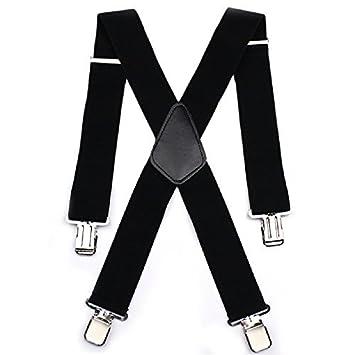 88f89646faeea Bretelles croisées de 50 mm de largeur pour pantalon de moto homme,  ultra-résistantes, ajustables et élastiques