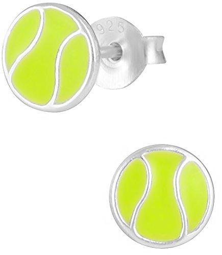 925-sterling-silver-hypoallergenic-tennis-ball-sports-stud-earrings-for-girls-nickel-free