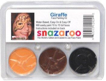 Giraffe THEME PACK Snazaroo Face Paint Theme Set