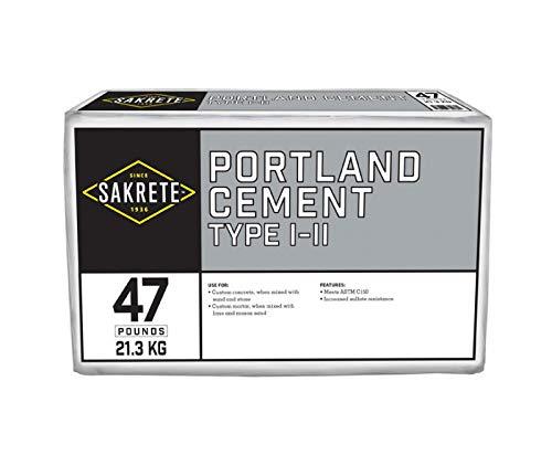 SAKRETE of North America 112447 47 LB Portland Cement, Type 1,