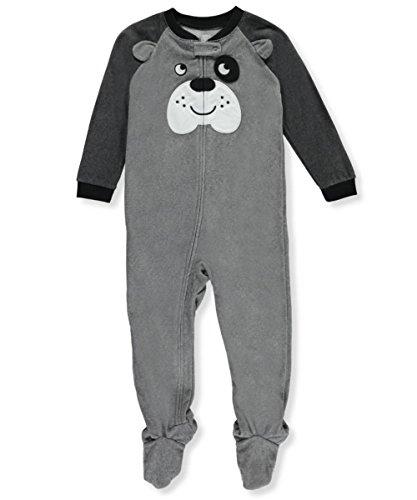 2493b6123 Galleon - Carter s Boys  12M-4T One Piece Dog Fleece Pajamas 3T