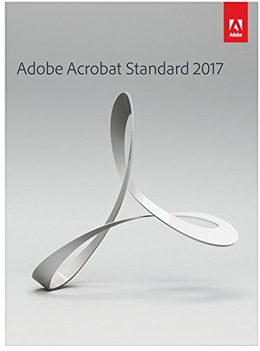 Adobe Acrobat Standard 2017 [PC DISC]