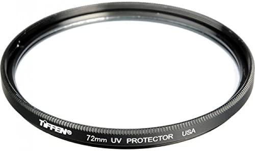 Tiffen 77mm UV Protection Filter /& Large Belt Style Filter Pouch for Filters 62mm to 82mm