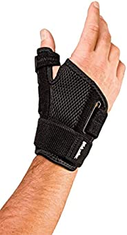 Mueller Sports Medicine Reversible Thumb Stabilizer One Size Fits Most, Black