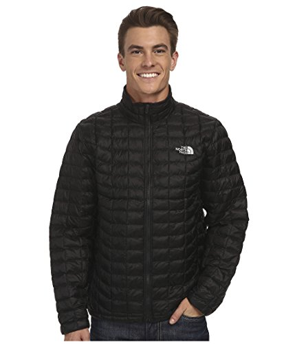 (The North Face Men's Thermoball Full Zip Jacket, TNF Black 2, LG)