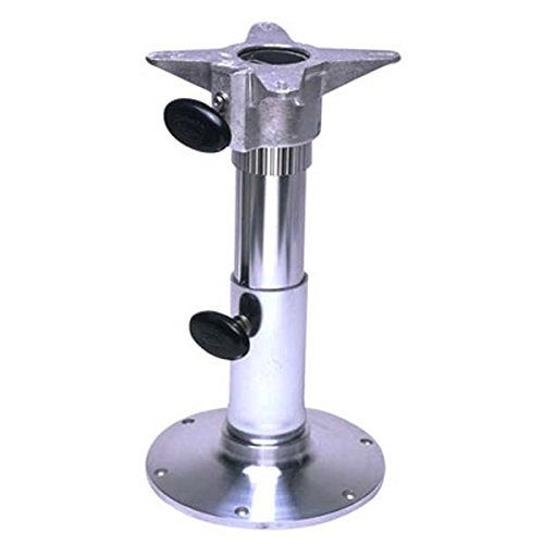Garelick 75235:01 Adjustable Height Seat Base with Smooth Anodized Finish - (Garelick Seat Base)