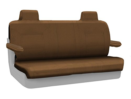 Coverking Custom Fit Rear Solid Bench Seat Cover for Select Lincoln Town Car Models - Ballistic (Tan) ()