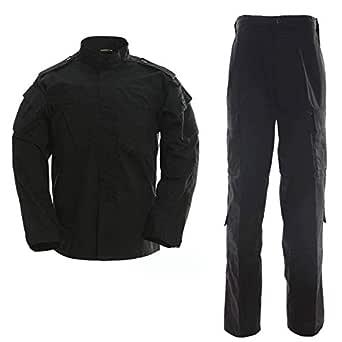 Chaqueta y pantalón táctico para Hombre y Uniforme Militar Camo Caza ACU 2 Piezas Conjunto