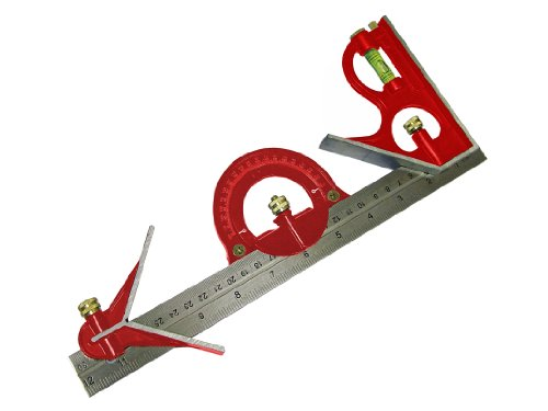 Faithfull Combination Square Set 300Mm (12 - Faithfull Combination