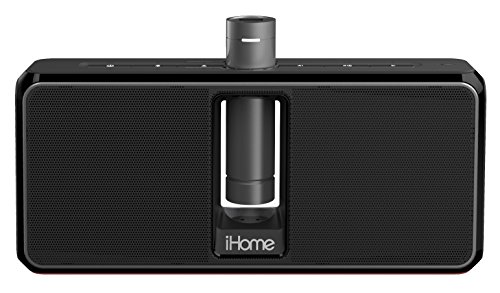 IHOME IKN150BC PORTABLE RECHARGEABLE BLUETOOTH STEREO SPEAKE