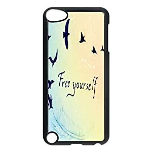 Be Free iPod Touch 5 Case Black Fohvm