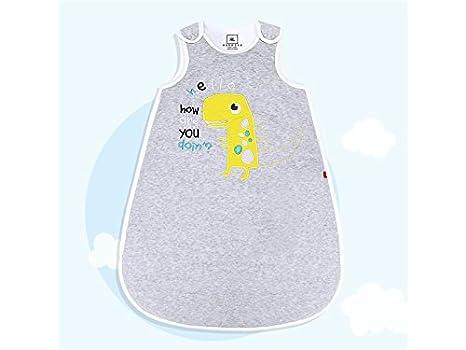 Saco de dormir con estampado de dinosaurio para recién nacido, ideal para bebés de 0 a 36 meses: Amazon.es: Bebé