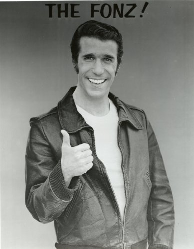 The Fonz Henry Winkler Happy Days Poster Photo Hollywood Posters Photos 11x14]()