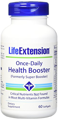 Life Extension Once-Daily Health Booster Softgels, 60 ()