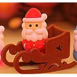 Iwako rosso di Babbo Natale e slitta giapponesi gomme