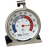 Taylor 3507 TruTemp Refrigerator / Freezer Analog Dial Thermometer with Safety Zones