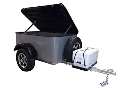 Hybrid Trailer Co Vacationer With Spare Tire And Cooler Tray