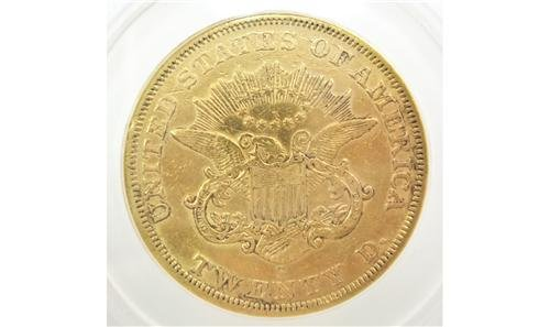 1861 CORONET TWENTY DOLLAR GOLD PIECE GLOSSY POSTER PICTURE PHOTO coin money - 1861 Gold Dollar