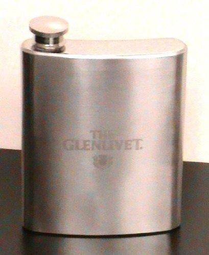 - The Glenlivet Single Malt Scotch Whisky Stainless Steel 8oz Flask