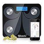 Blessbe Digital Bluetooth BMI Body Fat Analyzer